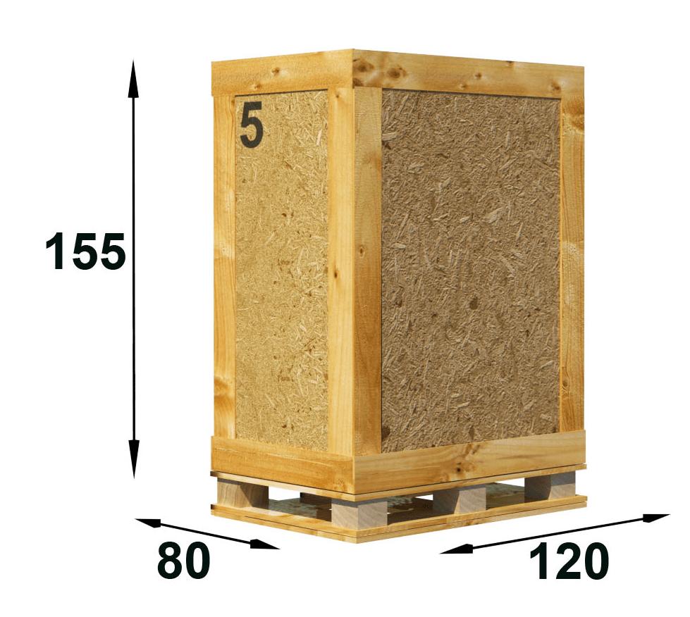 Skrzynia 1,5 m³ - Przechowalnia rzeczy